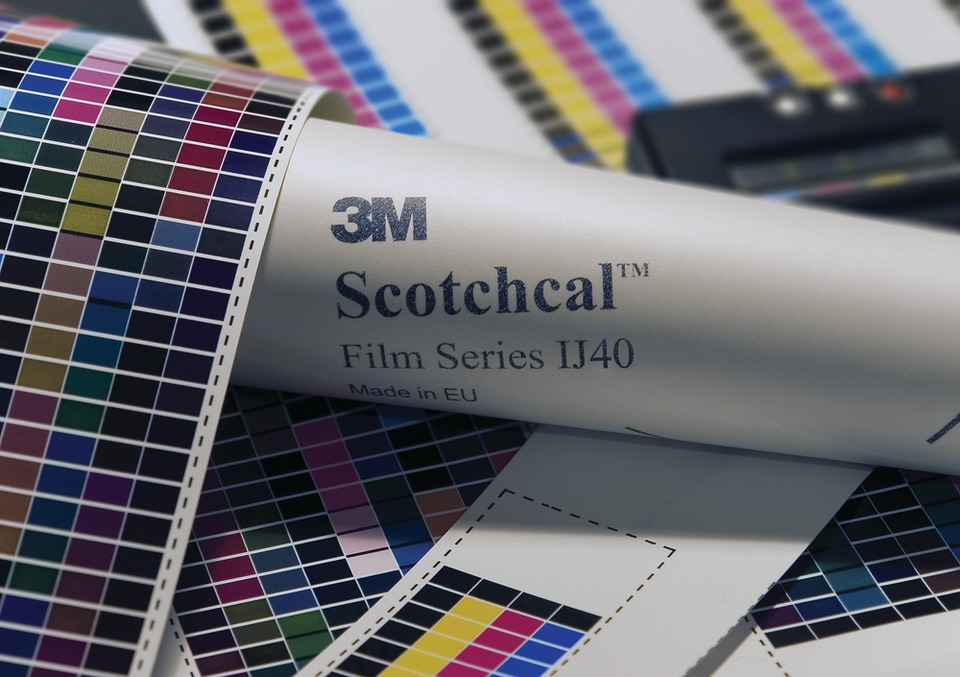 3M Commercial Graphics Division Europe Media Profiles in Home