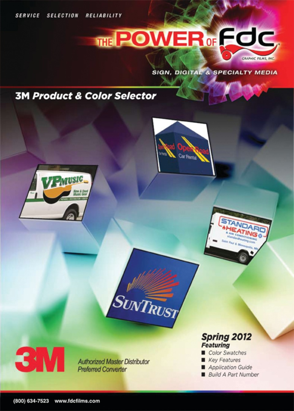 FDC Graphic Films FDC Sign Vinyl Product & Color Selector