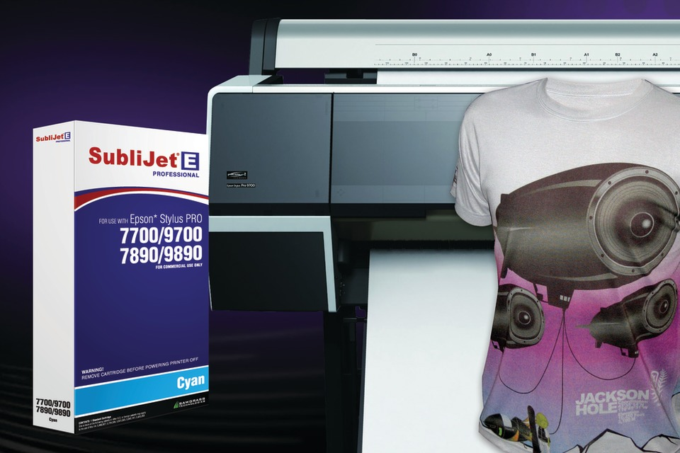 Sawgrass Offers SubliJet-E Professional Sublimation Ink for