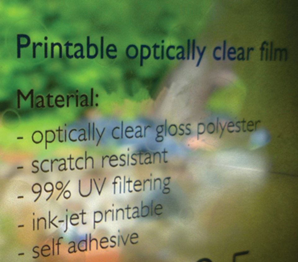 Starleaton Digital Solutions Helix Optically Clear PE Film in
