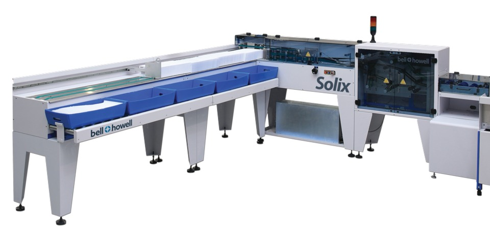 Bell And Howell Solix Mail Tray Loader In Mailing Fulfillment