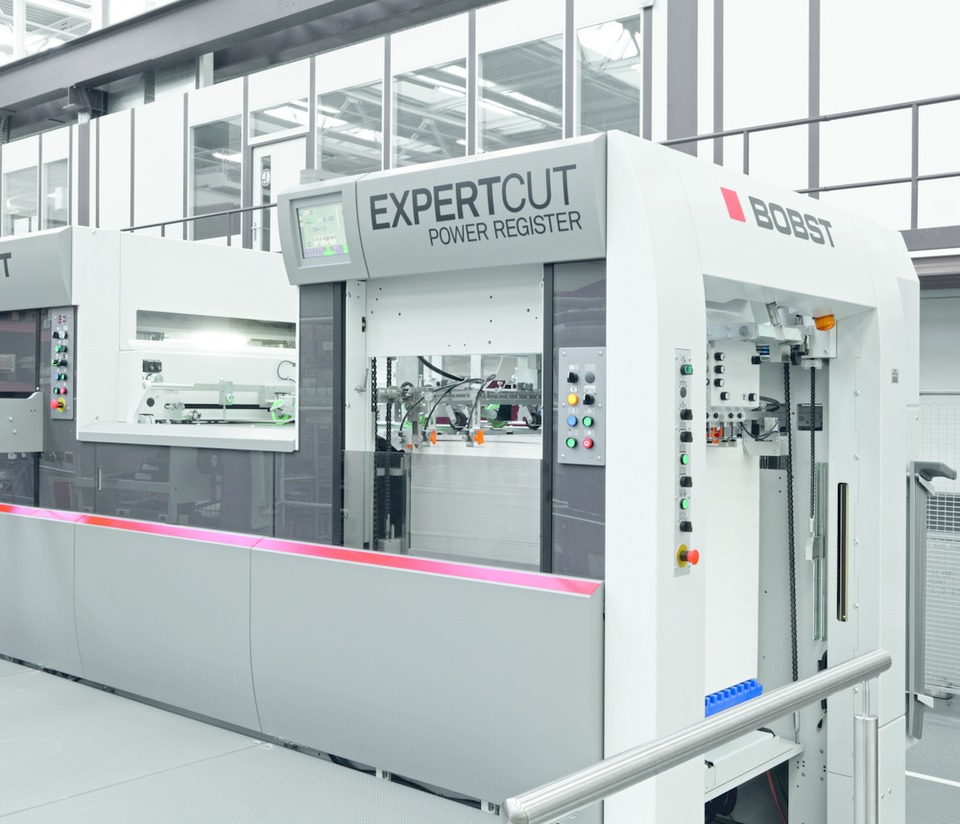 Platen With Tool Saver Technology On Bobst EXPERTCUT