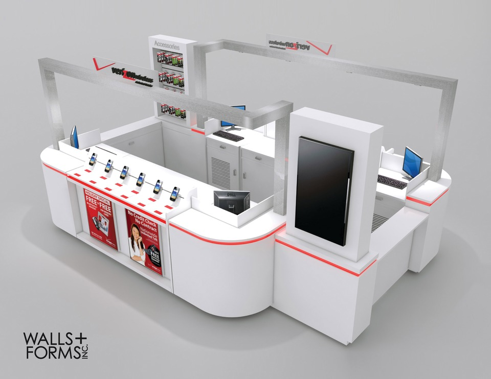 Walls + Forms Inc Indoor and Outdoor Kiosks in Consumables & Supplies