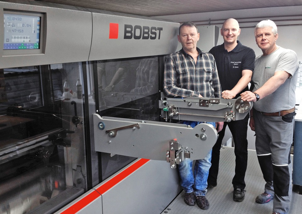 By Installing A BOBST Next Generation EXPERTCUT 106 LER KORTEL HIEKE Has Boosted Its Die Cutting Productivity About 40 SHOW CAPTION HIDE