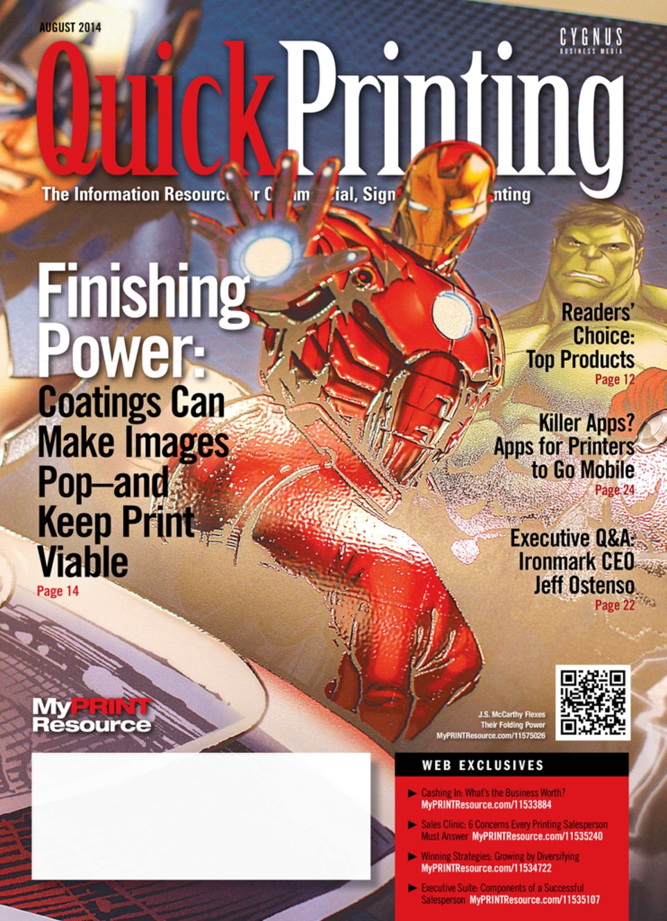Quick Printing August 2014
