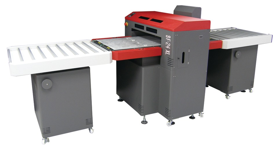The GO F 24XL UV, A New Small Format UV Flatbed Inkjet Printer With A  Standard Table Size Of 24 Inches By 47 Inches And Scalable Up To 79 Inches,  ...