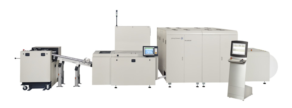 Pitney Bowes AcceleJet Printing and Finishing System Makes ...