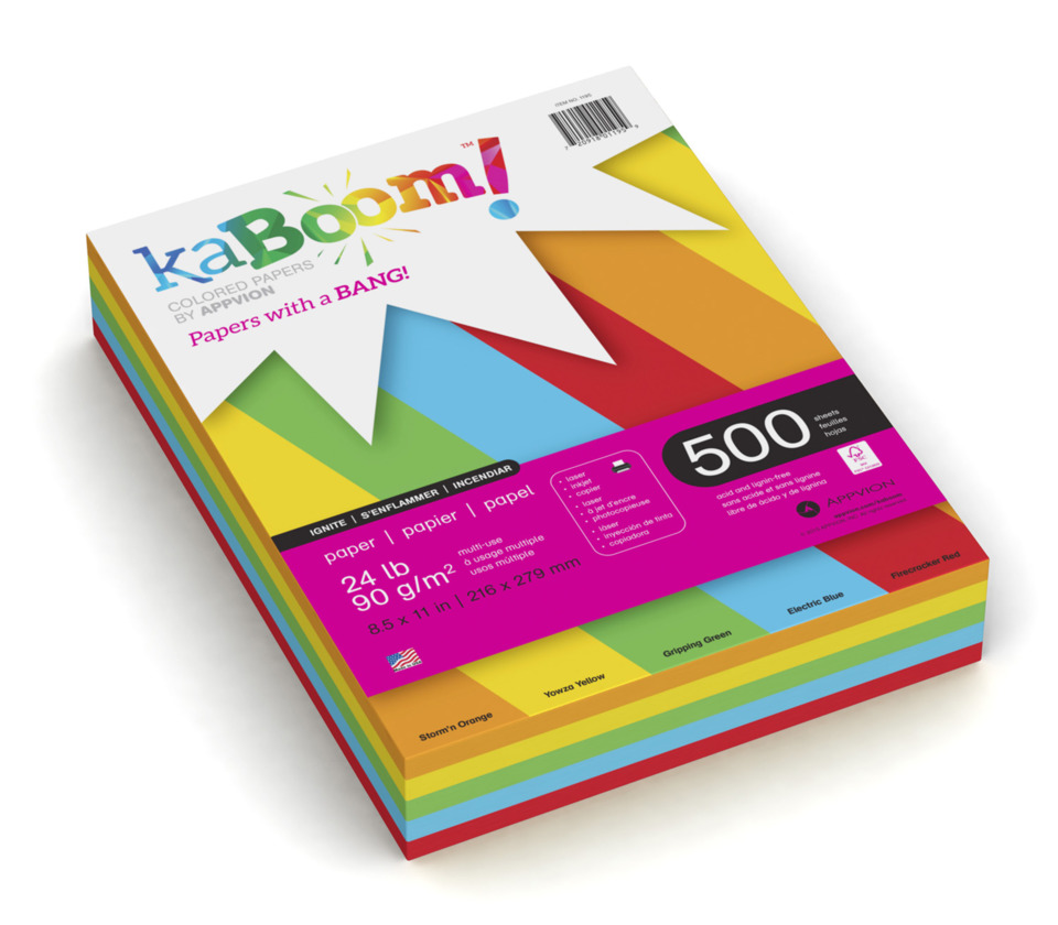 - Appvion KaBoom! Colored Paper Sheets In Paper Merchants & Recyclers