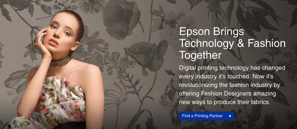 Epson Launches New Digital Fabric Printing Microsite for