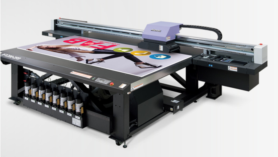 Mimaki USA Introduces the JFX200-2513 EX Flatbed Printer