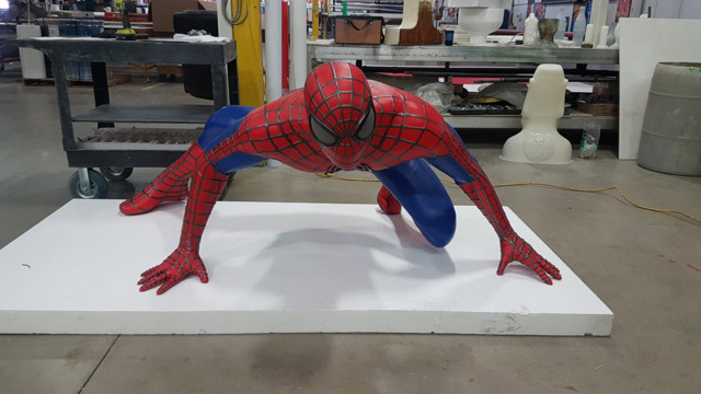 3D Printed Spiderman For Exhibitions,Events,Entertainment